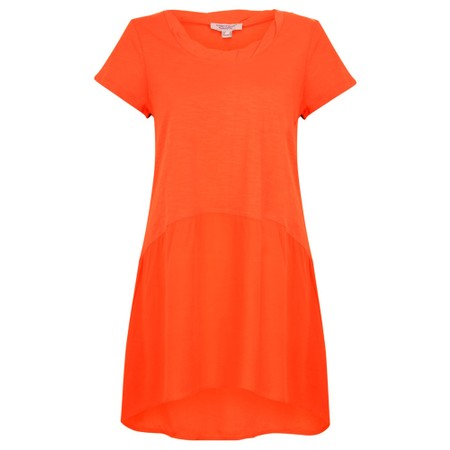Orientique Essential Short Sleeve Tunic Top  - Red