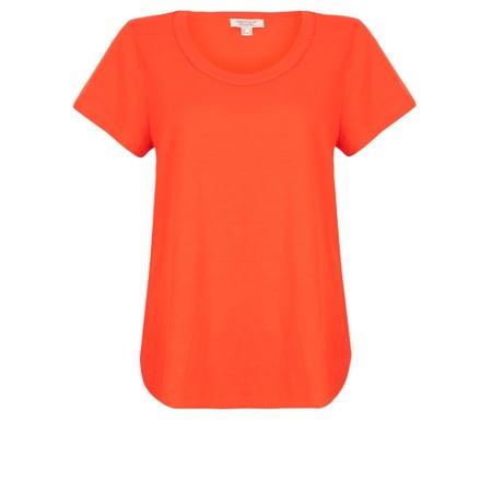 Orientique Essential Short Sleeve Top  - Red