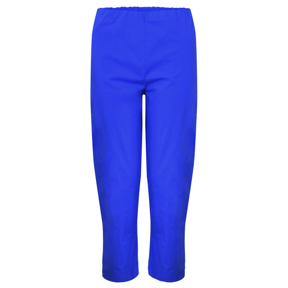 Orientique Bangalene Capri Trouser Marine Blue