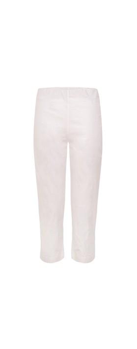 Orientique Bangalene Capri Trouser White xx