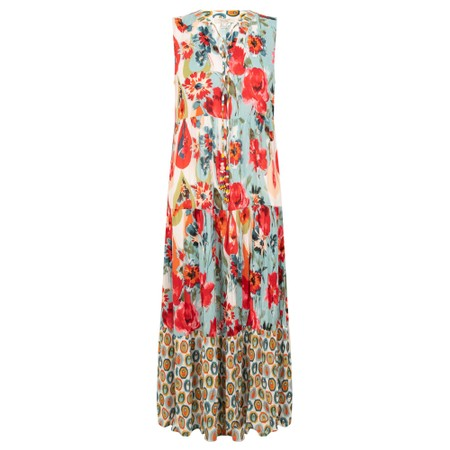 Orientique Kefalonia Maxi Dress - Multicoloured
