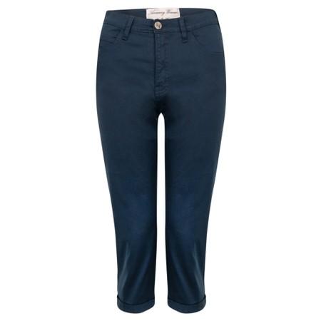 Amazing Woman  Moonlite 09 Superstretch Slimfit Crop Trouser - Blue