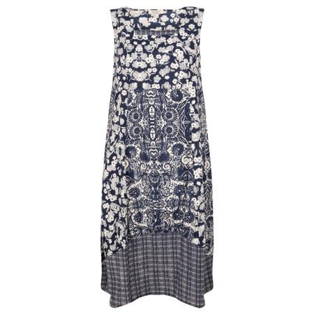 Orientique Samothrace Bubble Dress  - Blue