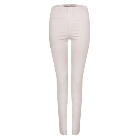 Amazing Woman  Moonlite 08 Superstretch Slimfit Pull On Trouser - White