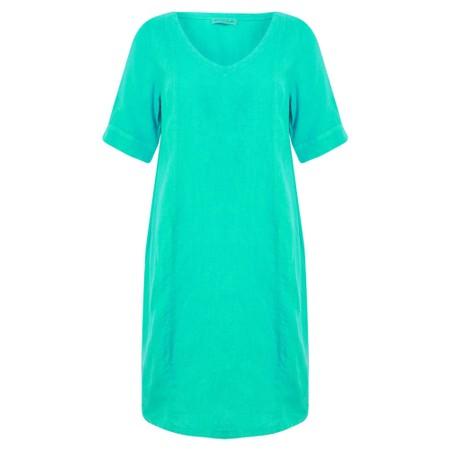 Mes Soeurs et Moi Arolla Arachon Linen Dress  - Green