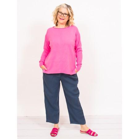 Mes Soeurs et Moi Artaban Straight Linen Trousers - Blue