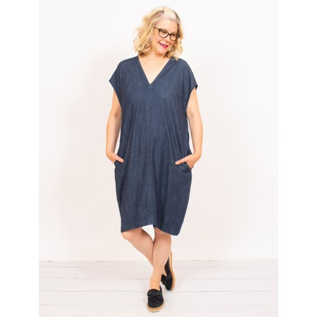 Mes Soeurs et Moi Canape Denim Dress - Blue