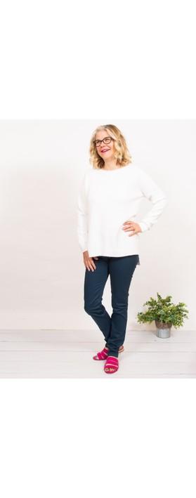 Amazing Woman  Moonlite 02 Slimfit Cotton Stretch Jean  Navy