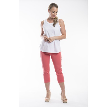 Orientique Bangalene Capri Trouser - Pink