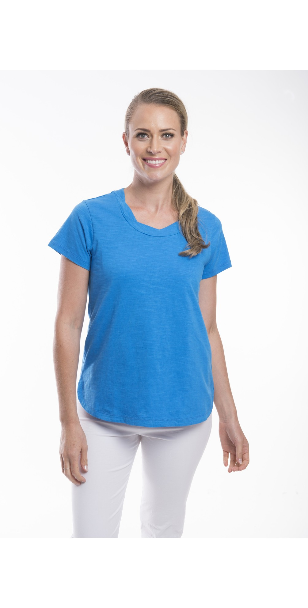 Essential Cotton Tee Top main image
