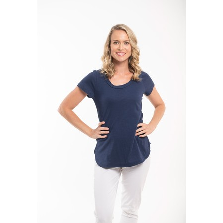 Orientique Essential Short Sleeve Top  - Blue