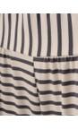 Chalk Charcoal / White Luna Pant
