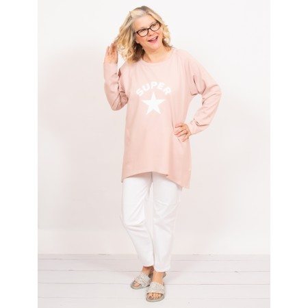 Chalk Gemini Exclusive ! Robyn Super Star Top - Pink
