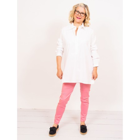 Amazing Woman  Moonlite 08 Superstretch Slimfit Pull On Trouser - Pink