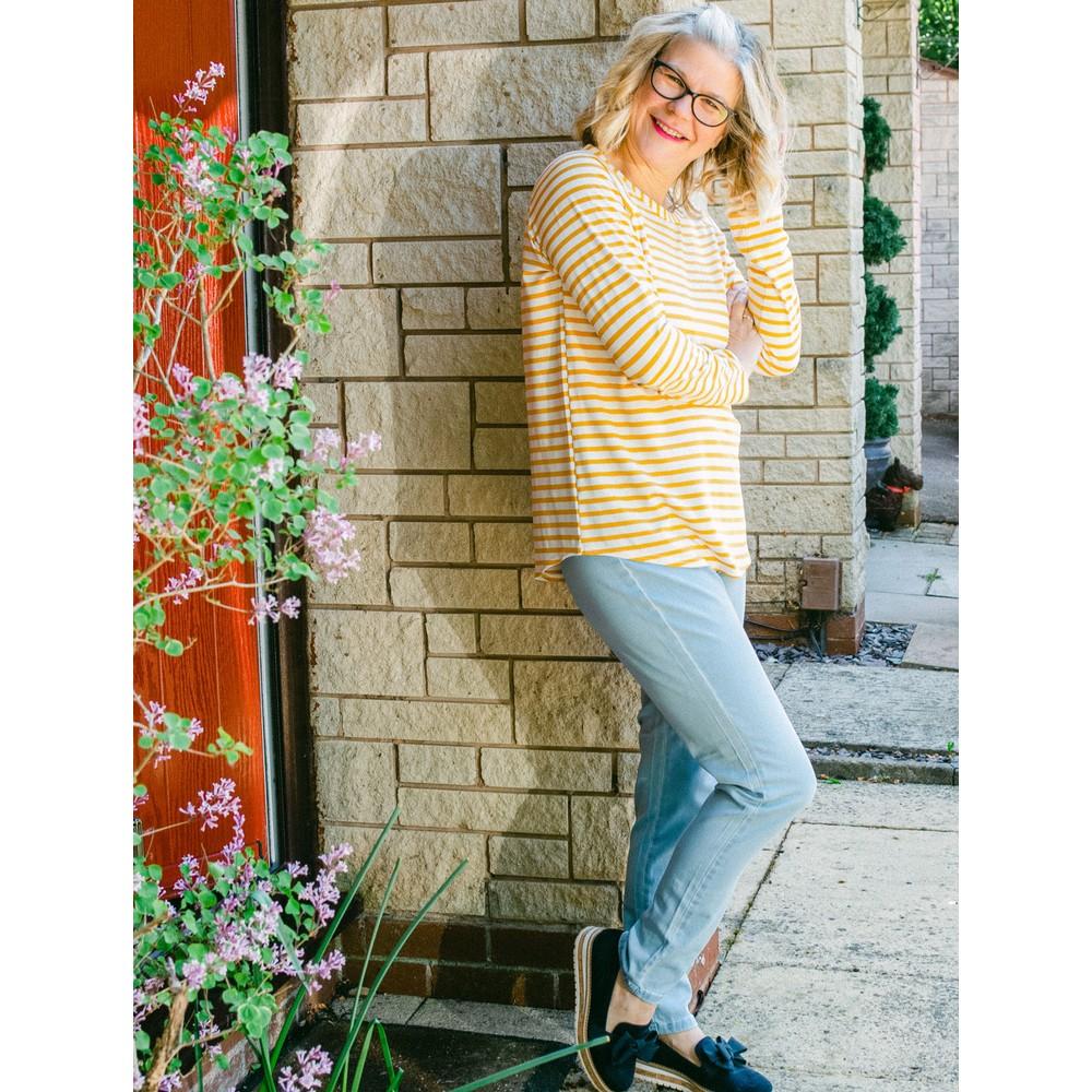 Amazing Woman Moonlite 14 Superstretch Skinny Fit Side Zip Jean StoneBleach