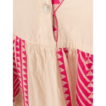 TOC  Della Greek Style Maxi Dress - Pink