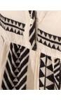 TOC  Black Ella Greek Style Tunic Dress