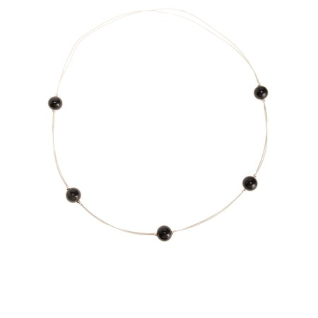 Etnika Cosmic Long Necklace - Black