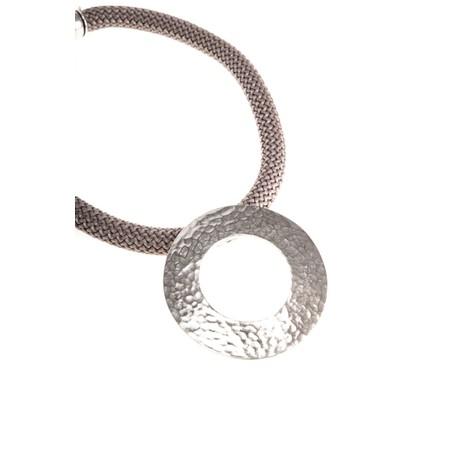 Strata Electra Short Necklace - Brown
