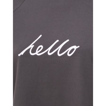 Chalk Darcey Hello Top - Black