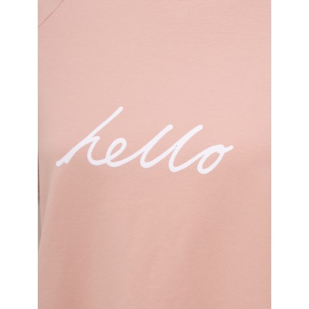 Chalk Darcey Hello Top - Pink