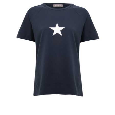 Chalk Darcey Small Star Top - Blue