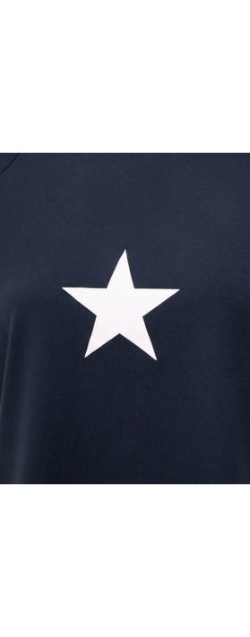 Chalk Darcey Small Star Top Navy