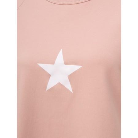 Chalk Darcey Small Star Top - Pink