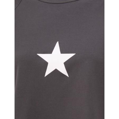 Chalk Darcey Small Star Top - Grey
