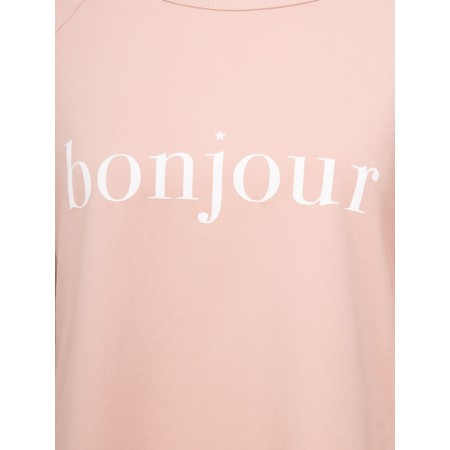 Chalk Tasha Bonjour Top - Pink