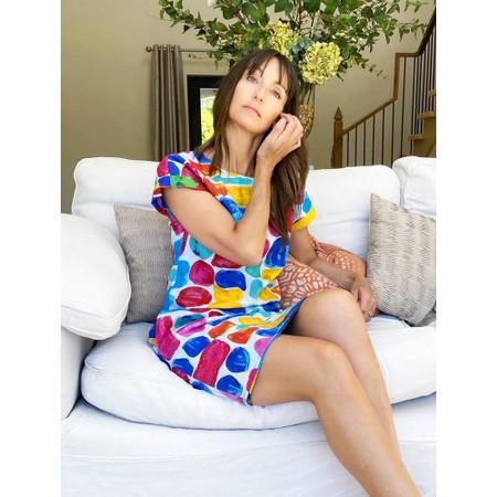 Orientique Sarakiniko Reversible Shift Dress - Multicoloured