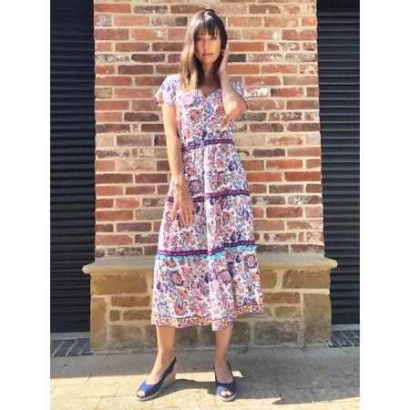 Orientique Elia Midi Dress - Multicoloured