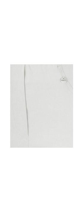 Robell Bella 09 Light Stone Grey Ankle Length Crop Cuff Trouser Light Stone Grey 92
