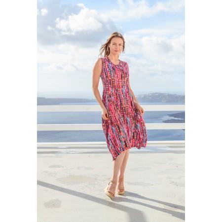 Orientique Skyrose Jersey Bubble Dress  - Pink