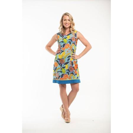 Orientique Platys Reversible Dress  - Multicoloured