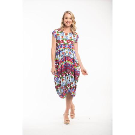 Orientique Delos Dress  - Multicoloured