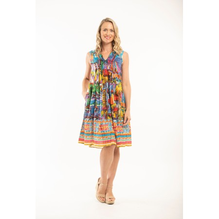 Orientique Kythira Dress  - Multicoloured
