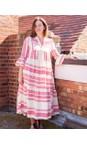 TOC Fuchsia Della Greek Style Maxi Dress