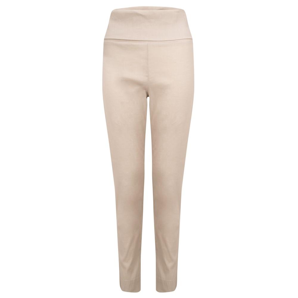 Crea Concept Slim Leg Tapered Trouser Natural