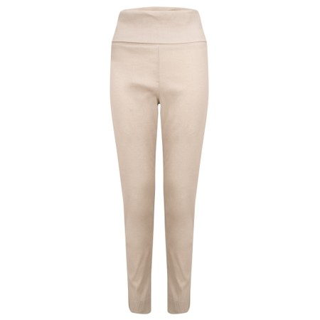 Crea Concept Slim Leg Tapered Trouser - Beige