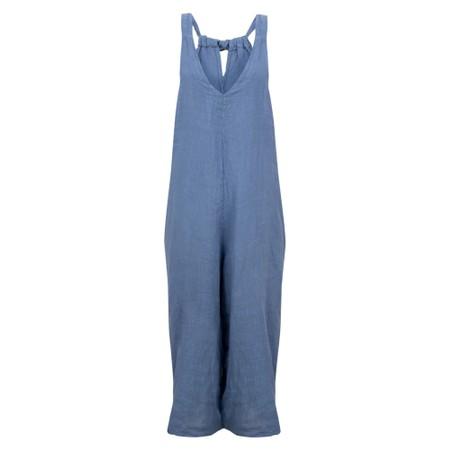 TOC  Sasha Linen Jumpsuit - Blue