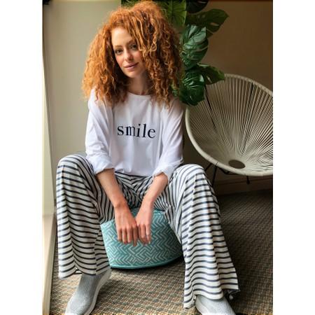Chalk Gemini Exclusive ! Robyn Smile Top - White