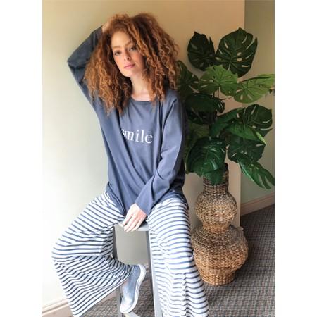 Chalk Gemini Exclusive ! Robyn Smile Top - Grey