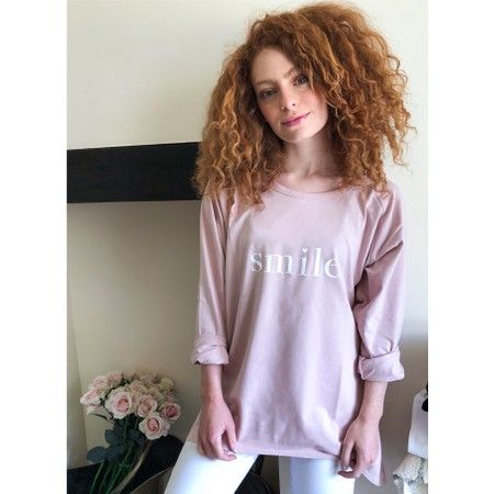 Chalk Gemini Exclusive ! Robyn Smile Top - Pink