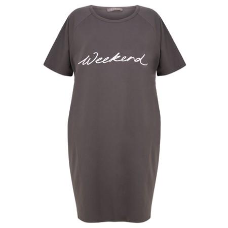 Chalk Linda Weekend Dress - Grey