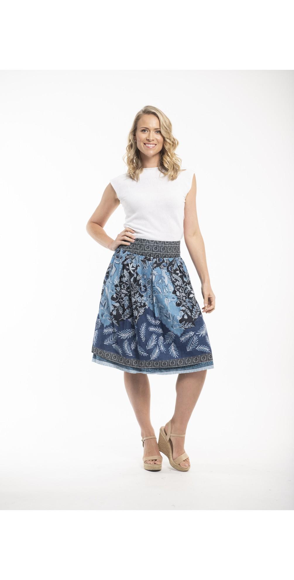 Crete Reversible Skirt main image