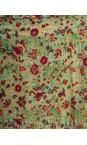 Orientique Green Multi Print Kea Skirt