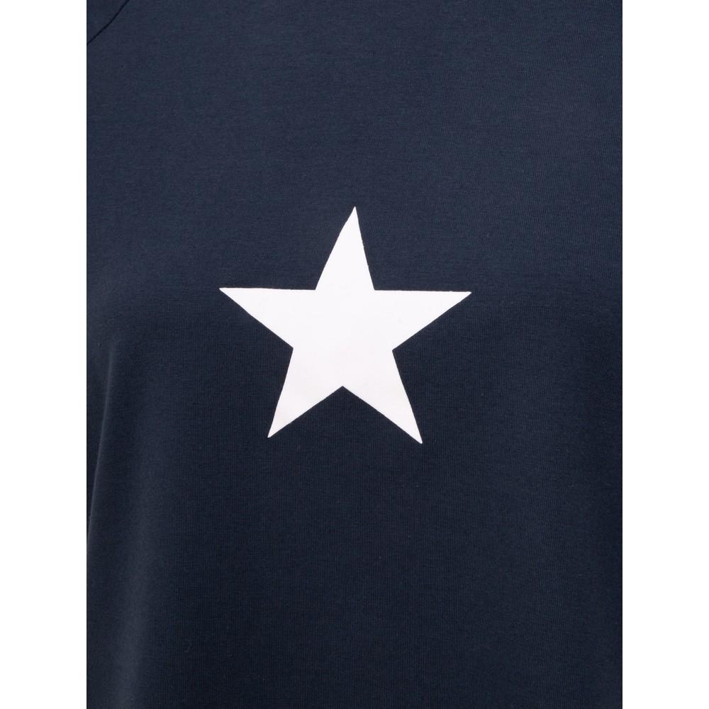 Chalk Darcey Small Star Top Navy / White