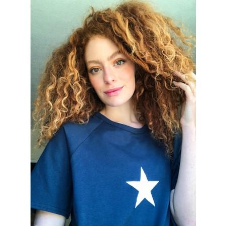 Chalk Darcey Small Star Top - Blue