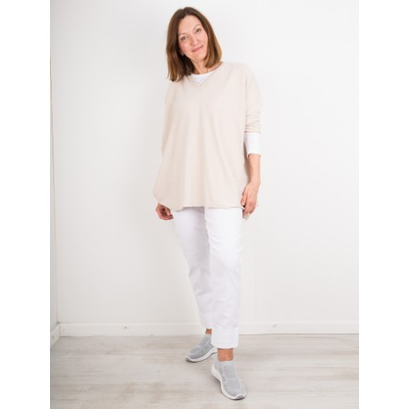 Chalk Clara Jumper - Off-White